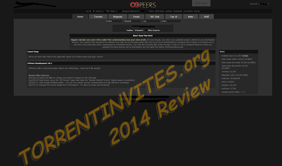 CGPeers | CGP | CG/VFX/Art | 2014 Review