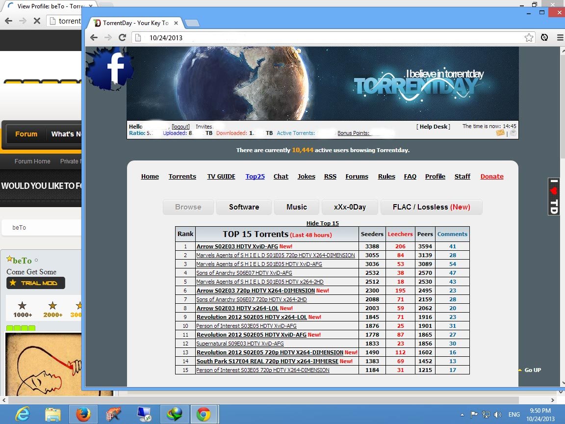 Tv torrent invite Fully loaded 2011