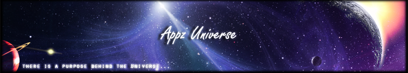 Browse to the homepage of AppzUniverse
