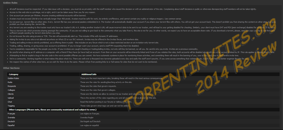 Torrent Invites - #1 To Buy, Trade, Sell Or Find Free