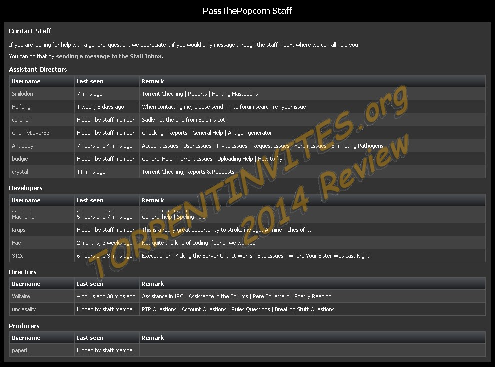 Passthepopcorn Ptp Movies 2014 Review